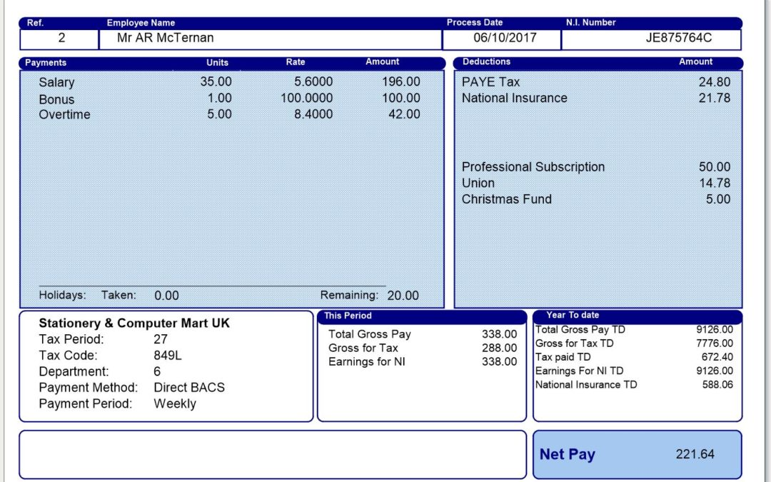 Payroll – This is why payroll should not be a nightmare.