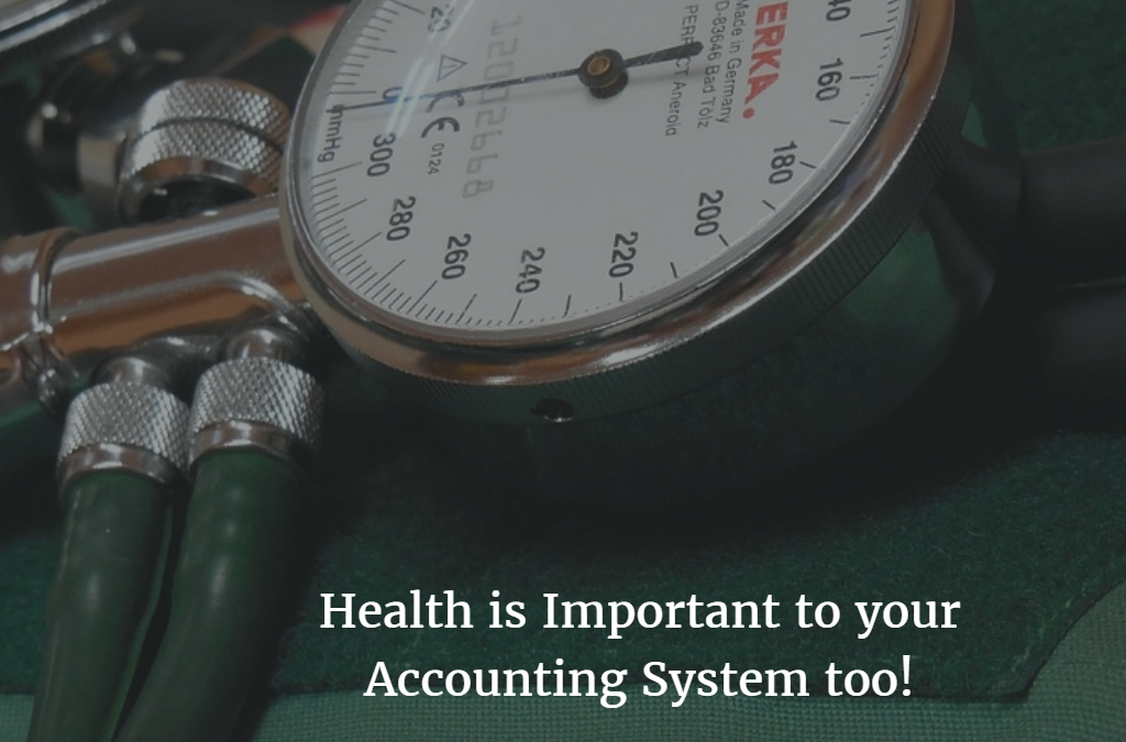 Has the Health of your System been Checked?