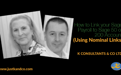 How to Link your Sage Payroll to Sage 50 or 200 Accounts (Using Nominal Links)