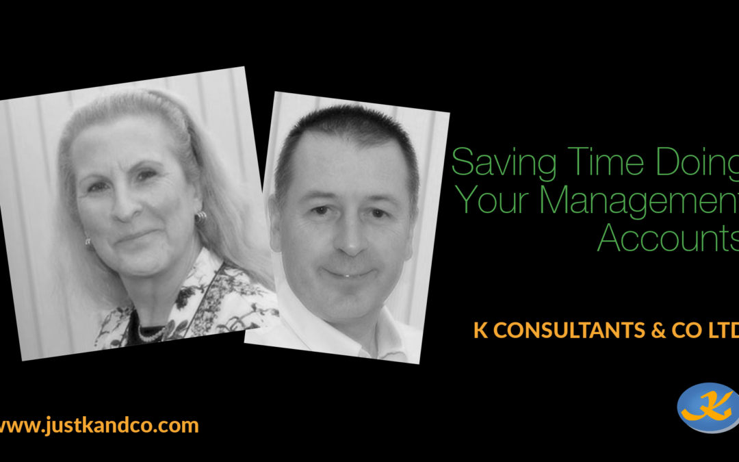 Saving Time Doing Your Management Accounts
